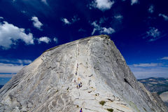 Half dome - Yosemite National Park Royalty Free Stock Images