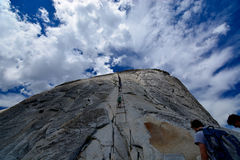 Half dome - Yosemite National Park Royalty Free Stock Photography