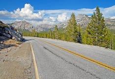 Half Dome, Yosemite National Park, Sierra Nevada Mountains, California Stock Photos