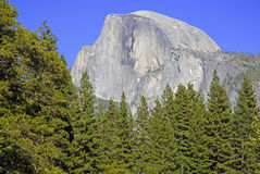 Half Dome, Yosemite National Park, Sierra Nevada Mountains, California Stock Photography