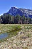 Half Dome in Yosemite National Park, Sierra Nevada Mountains, California Royalty Free Stock Photo