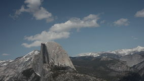 Half Dome, Yosemite National Park Timelapse Stock Photos