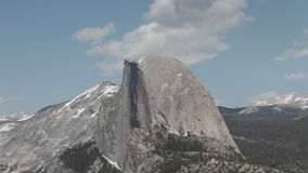 Half Dome, Yosemite National Park Timelapse Royalty Free Stock Image