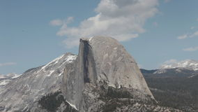 Half Dome, Yosemite National Park Timelapse Royalty Free Stock Images