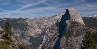 Half Dome, Yosemite NP Royalty Free Stock Images
