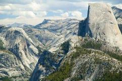Half dome at Yosemite NP Royalty Free Stock Image