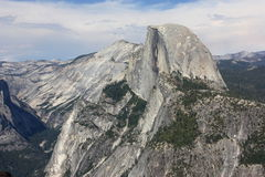 Half Dome in Yosemite  Park Stock Photography