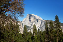 Half Dome, Yosemite Royalty Free Stock Photos