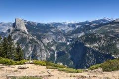 Half Dome of Yosemite Valley Stock Photography