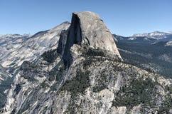 Half Dome of Yosemite Valley Stock Photo