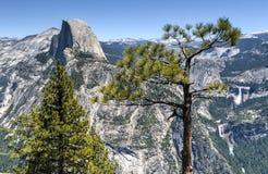 Half Dome of Yosemite Valley Royalty Free Stock Image