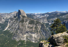 Half Dome of Yosemite Valley Stock Photos