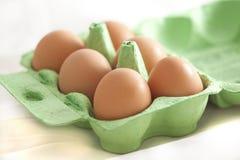 Half a dozen eggs Royalty Free Stock Photo