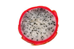 Half of dragon fruit Royalty Free Stock Image