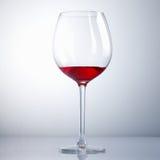 Half drunk Wine Glass Royalty Free Stock Photo