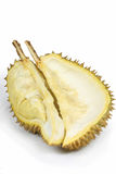 Half of the durian Royalty Free Stock Images