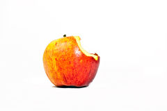 Half-eaten Apple Royalty Free Stock Images