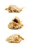 Half Eaten Roast Chicken Stock Photography