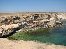 Half eiland in de Krim Royalty-vrije Stock Afbeelding