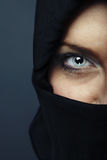 Half-face Royalty Free Stock Image