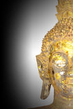 Half face of Buddha Royalty Free Stock Photography