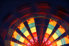 Half Ferris wheel Stock Images
