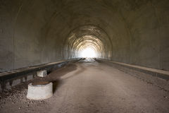 Half-finished Tunnel Stock Images
