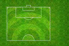 Half of football field or soccer field pattern and texture with. Clipping path. Abstract soccer field or football field background for create soccer tactic and Royalty Free Stock Photos