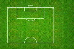 Half of football field or soccer field pattern and texture with. Clipping path. Abstract soccer field or football field background for create soccer tactic and Stock Image