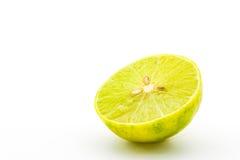 Half of fresh limes. Stock Image