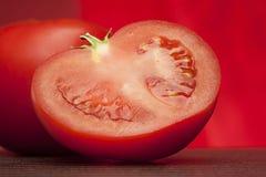 Half fresh tomato Stock Photography