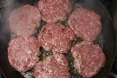 Half fried beef Royalty Free Stock Images