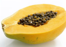 Half of the fruit papaya Royalty Free Stock Photography