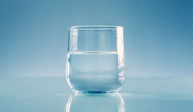 Half full or half empty Royalty Free Stock Photography