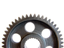 Half gear Royalty Free Stock Photo