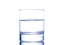 Half a glass of water Royalty Free Stock Photography