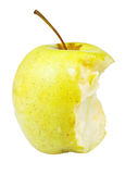 Half of golden delicious apple Royalty Free Stock Photo