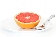 Half Grapefruit Royalty Free Stock Photography