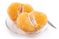 Half of grapefruit Stock Photos