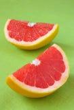 Half of grapefruit Stock Images