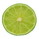 Half green lime Stock Photo