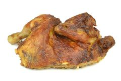 Half a grilled chicken Royalty Free Stock Images