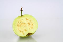 Half guava Isolated Royalty Free Stock Photo