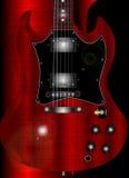 Half Guitar Stock Image