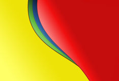 Half Heart Gradient Background. Half heart red yellow gradient abstract background Royalty Free Stock Photo