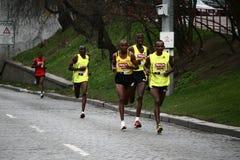 half hervismaraton prague Royaltyfri Fotografi