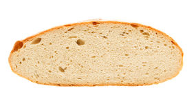 Half of home made bread Royalty Free Stock Photos