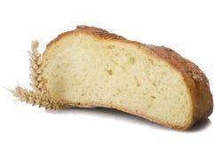 Half Homemade whole bread Stock Photos
