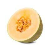 A half Honey melon Royalty Free Stock Photos