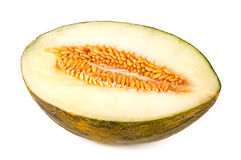 Half a honeydew melon Royalty Free Stock Photo